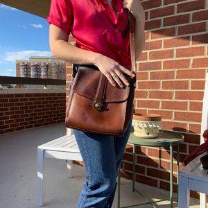 Coach Vintage Leather Messenger Crossbody Bag